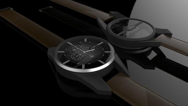 Ý tưởng smartwatch Samsung Gear S4 đến từ nhà thiết kế Jermaine Smit