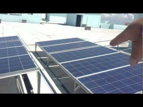 Clip Hệ thống điện năng lượng Mặt trời đầu tiên vận hành tại VN
