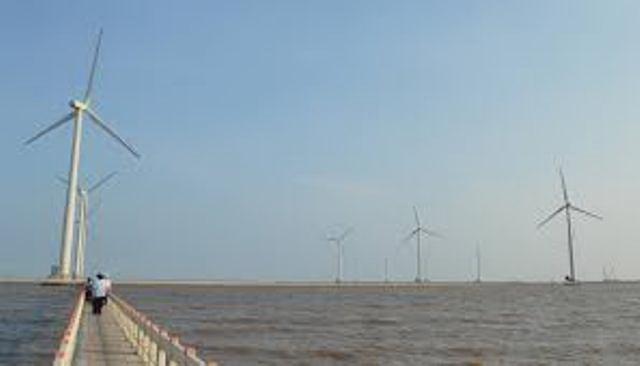 Phát triển năng lượng điện gió để ứng phó với BĐKH