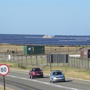 Sân bay đầu tiên chạy bằng điện mặt trời ở Nam Phi