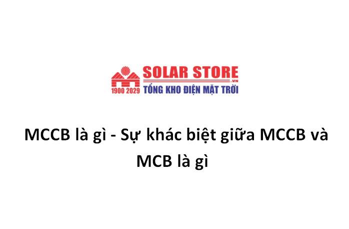 MCCB là gì